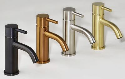 Rubio Inox handdouche ophanghaak met watertoevoer volledig RVS kleur PVD Gun Metal 1208920708