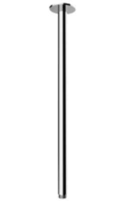 Rain plafond douche arm rond 50cm kleur mat wit 1208946686