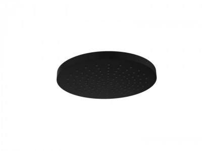 Rain Regendouche waterbesparende hoofddouche 25 cm metaal mat zwart 1208946742