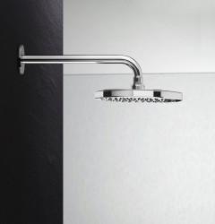 Waterevolution Flow hoofddouche 250mm met muuraansluiting Chroom