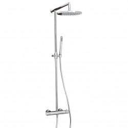 DEMM Shower douchecombinatie thermostaat met regendouche chroom 1208946967