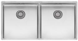 Reginox New York grote dubbele RVS spoelbak 40x40 + 40x40 T09T14LLU08GDS R28254