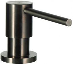 Ausmann Elbe inbouw keuken zeepdispenser PVD gun metal 1208952332