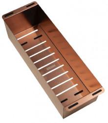 Ausmann Elbe inzetbak restenbak RVS PVD copper tbv spoelbak 40cm 1208952334