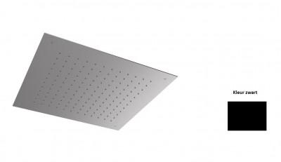 Rubio Nero Regendouche inbouw 50x50cm mat zwart 1208952988