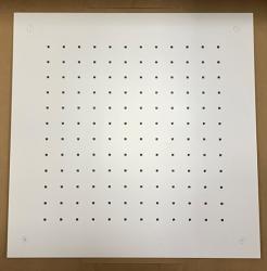 Rubio grote inbouw Regendouche plafonddouchekop 50x50cm mat wit 1208953323