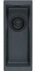 Ausmann Black kunstof zwarte spoelbak 16x41cm onderbouw 1208953775