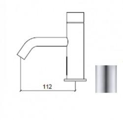 Waterevolution Flow elektronische wastafelkraan infrarood op batterijen RVS 1208953933