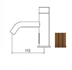Waterevolution Flow elektronische wastafelkraan infrarood op 230volt koper 1208953945