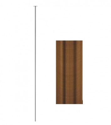 Waterevolution Flow plafond wastafelkraan uitloop PVD geborsteld koper T1678CPE