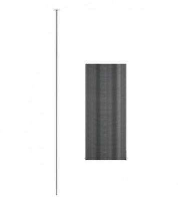 Waterevolution Flow plafond wastafelkraan uitloop PVD gun metal T1678GME