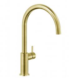 Reginox Levisa gouden keukenkraan PVD Gold met draaibare uitloop R35306 1208954311