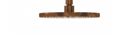 Waterevolution Flow hoofddouche 250mm PVD Geborsteld Koper T164325CPE