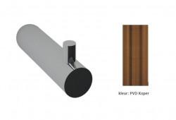 Waterevolution Flow handdoekhaakje PVD geborsteld koper A150CPE