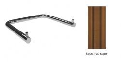 Waterevolution Flow Dubbele wc toiletrolhouder PVD geborsteld koper A131CPE