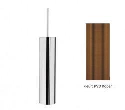 Waterevolution Deep toiletborstelset staand PVD geborsteld koper A240CPE