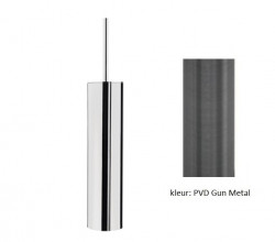 Waterevolution Deep toiletborstelset staand PVD Gun Metal A240GME