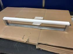 Handdoekhouder 60 cm chroom en Solid Surface  1208954424 OUTLET