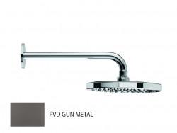 Waterevolution Flow hoofddouche 200mm met muuraansluiting Gun Metal T1641GME