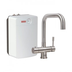 Franke Pollux 3 in 1 kokend water kraan Combi XL volledig RVS met 10 liter boiler 119.0529.334