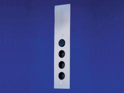 Energiezuil met 3 stopcontacten en schakelaar VSTS 3007