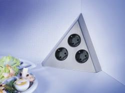 Energiezuil met 3 stopcontacten VHL 3 ST