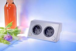 Energiezuil met 2 stopcontacten VST3900